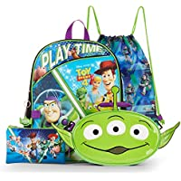Toy Story 4-16 Inch Backpack Set 5 Piece