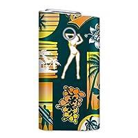 glo グロー グロウ 専用スキンシール 裏表2枚セット カバー ケース 保護 フィルム ステッカー デコ アクセサリー 電子たばこ タバコ 煙草 喫煙具 デザイン おしゃれ glow スポーツ 海 サーフ 004489