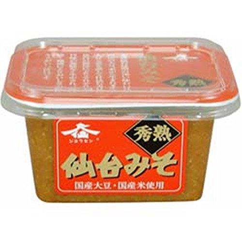 仙台味噌醤油 秀熟仙台みそ 300g