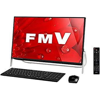 富士通 23.8型 デスクトップパソコンFMV ESPRIMO FH53/B1 オーシャンブラック(Office Personal Premium プラス Office 365) FMVF53B1B