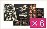 マカデミアナッツチョコレートTIKI 8oz(16粒)×6 Hawaiian Host(ハワイアンホースト) ハワイアンホースト Host Chocolate MACADAMIA 8 OZ