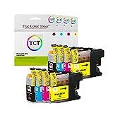 True Colorトナーlc2038パック高Yield互換インクカートリッジBrother mfc-j460dw j480dw j485dw j880dw j4620dw j4420dwプリンタ( lc203bkブラック、lc203Cシアン、lc203mマゼンタ、lc203yイエロー)