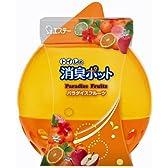 トイレの消臭ポット 消臭芳香剤 トイレ用 パラダイスフルーツの香り 270g