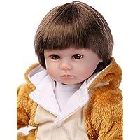 Lovely 17インチ42 cm Real Lifelike Realistic Looking Reborn幼児用ベビーガール人形that look realハンドメイドソフトビニール人形シリコン新生児磁気口