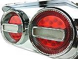 Officek 24V 2連 丸型 赤白 LED チェリーテール 左右セット 2連テール