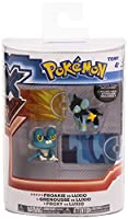 Pokemon X & Y: Pikachu vs Flareon Action Figure 2-Pack