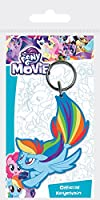 Pyramid International My Little Pony Movie Rainbow Dash Sea Pony Rubber
