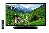 シャープ 40V型 AQUOS フルハイビジョン 液晶テレビ  直下型LEDバックライト 外付HDD対応 LC-40E40