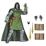 Marvel Vintage Series 6-inch Scale Dr. Doom Fantastic 4 Action Figure Toy, 10 Accessories, Marvel Super Hero Collectible Series, Ages 4 And Up