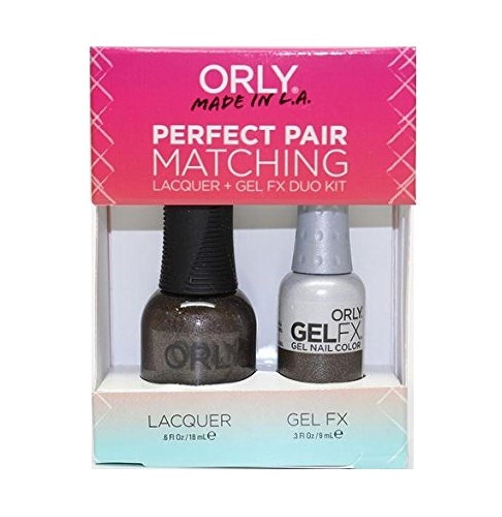 世代夜の動物園後者Orly - Perfect Pair Matching Lacquer+Gel FX Kit - Seagurl - 0.6 oz / 0.3 oz