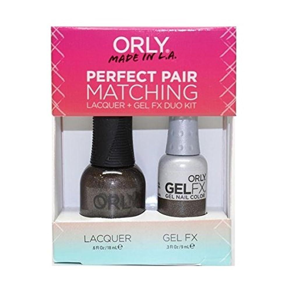 論理的膨らませる原点Orly - Perfect Pair Matching Lacquer+Gel FX Kit - Seagurl - 0.6 oz / 0.3 oz