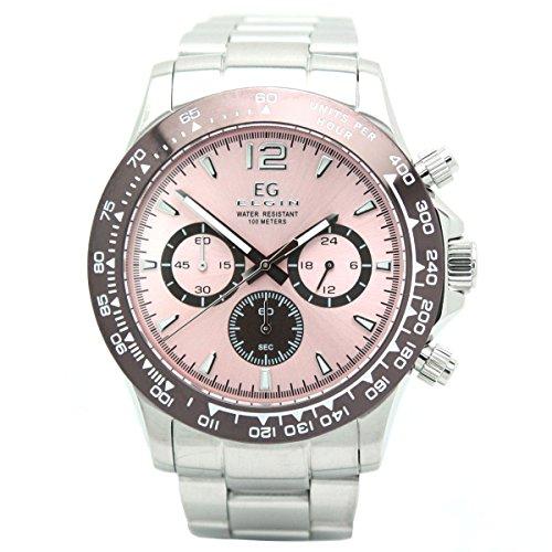 [エルジン]ELGIN 腕時計 EGシリーズ クロノグラフ ...