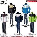 MIZUNO(ミズノ) N-XT ウォーマー 上下セット 【メンズ】 (32JE6540/32JF6540) (L, ホワイト×ブラック(01/90))