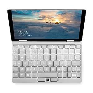 ONE-NETBOOK OneMix 3 ミニパソコン 超薄型 ( Windows10 / 8.4インチ 2560*1600 IPSタッチパネル / Intel Core m3-8100Y / 8GB RAM + 256GB PCIe SSD / 360度YOGAモード / 4096段階の筆圧に対応 / バックライト付きキーボード ) シルバー
