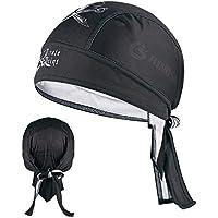 インナーキャップ ヘルメット バンダナキャップ 吸汗 速乾 UVカット フリーサイズ ロードバイク・自転車・バイク・アウトドア用 ヘルメットインナー