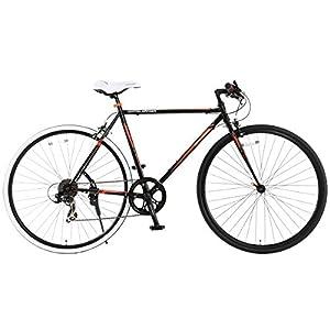 DOPPELGANGER(ドッペルギャンガー) クロスバイク LIBEROシリーズ 700x28C 420-BK SCALPEL ホリゾンタルロードフレーム採用モデル