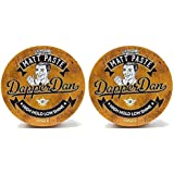 Matt Paste By Dapper Dan, High Hold Low Shine, Hair Styles, Vintage Cologne Fragrance 2 x 100ml Duo Pack