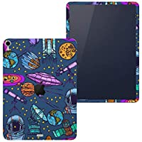 igsticker iPad Pro 12.9 inch インチ 専用 apple アップル アイパッド 2018 第3世代 A1876 A1895 A1983 A2014 全面スキンシール フル 背面 側面 正面 液晶 タブレットケース ステッカー タブレット 保護シール 人気 青 ブルー 宇宙 イラスト 008789