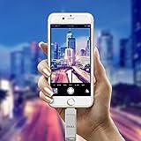 ライトニングusbメモリiPhone usb iPhone メモリusbメモリ ライトニングアイフォン データ保存usbメモリ iPhone対応 Apple認証usbメモリ iPhone対応iPad usbメモリ Apple MFi 認証済外付けドライブストレージきiPhone iPad iPod touchの容量不足解消 iDiskk 64G