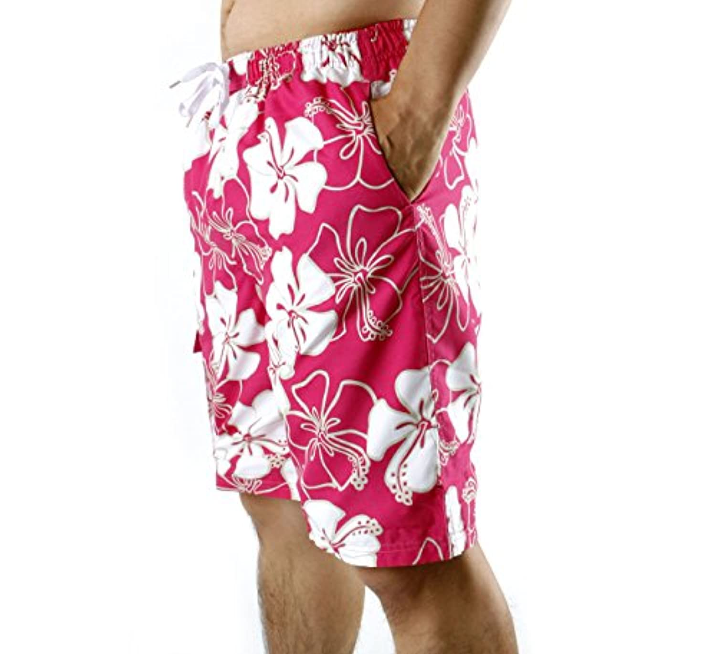 Pasha 男性の水泳パンツ 水着ボードショーツ ウェイクボード福