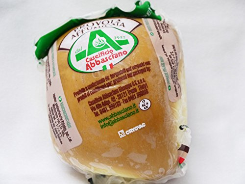 燻製チーズ スカモルツァ・アフミカータ 約300g アバシャーノ社 イタリア産
