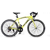 ロードバイク700C 初心者SD-01自転車 14段変速 男女兼用 通勤通学 軽量 ドロップハンドル