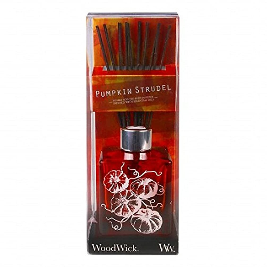 知り合い遠近法大騒ぎWoodWick(ウッドウィック) Wood Wickダンシンググラスリードディフューザー 「 シュトルーデル 」 ディフューザー 68x68x105mm (W9540508)