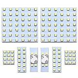 【M&L社製 1年保証】プロ御用達 ハイエース 200系 (スーパーGL/ワゴンGL) 車種専用設計 TOYOTA LED ルームランプ 1型 2型 3型 年式H16.8~H25.11 SMD 8点セット