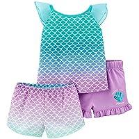 Carter's 3-Piece Girls Poly Pajama Set