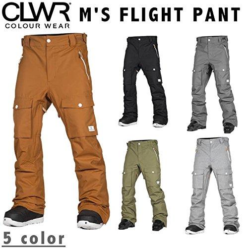 COLOUR WEAR 17-18 M'S FLIGHT PANT カラーウェアー カラー L GREY_MELANGE