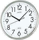 SEIKO CLOCK (セイコークロック) 掛け時計 アナログ オフィスタイプ 銀色 KH220A