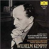 ブラームス:ピアノ協奏曲第1番、ヘンデルの主題による変奏曲とフーガ