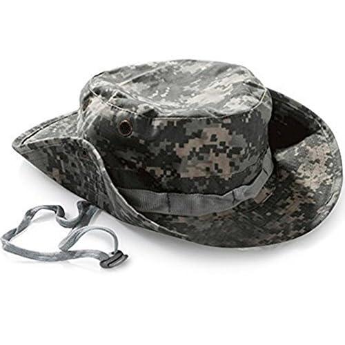 (デマ―クト)De.Markt ジャングルハット マルチカムフラージュサ カム ブーニーハット サファリハット 男女兼用 バゲー 装備 迷彩 帽子 サイズ調整可 ス ノボーに使う 軍服