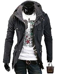 (アーバンセレクト) Urban Select ミリタリージャケット カーキ メンズ ネイビー 迷彩 黒 AI-1691(エコバッグセット)