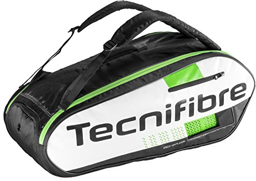 テニス スカッシュ バドミントン ラケットバッグ テクニファイバー TECNIFIBRE SQUASH GREEN 9R 9本入り
