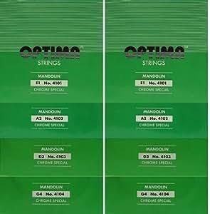 オプティマ マンドリン弦 グリーンパッケージ セット