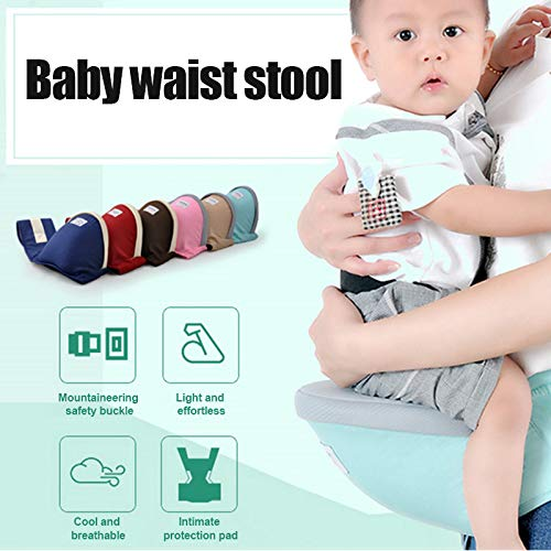 Rajendram Breathable Baby Carrier,Baby Carrier Storage Pack,Baby Waist Stool,Baby Waist Stool Baby Carrier Single Stool Baby Waist Stool