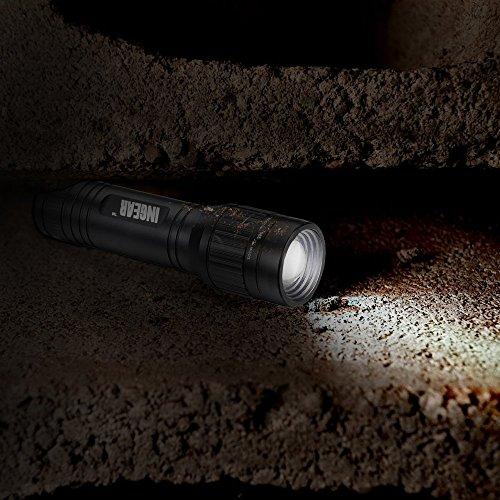 『INGEAR(インギア)ズーム機能付きled ライト 懐中電灯 【明るさ250ルーメン/実用点灯8時間】LEDフラッシュライト 点灯5モード付き ハンディライト [並行輸入品]』の6枚目の画像