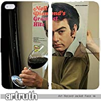 music 手帳型 Disney Mobile SH-02G (G009502_01) Art Record Jacket Face 趣味 sleeveface vinylface 個性的 スマホケース