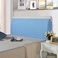 LIANGJUN クッション ベッドサイド 腰まくら 三角形 枕 コットン ウォッシャブル 柔らかい 多機能 読書 残り ベッドルーム ベッド カバーヘッドボード 背もたれ、 7色 (色 : 6#, サイズ さいず : 150X50X12cm)