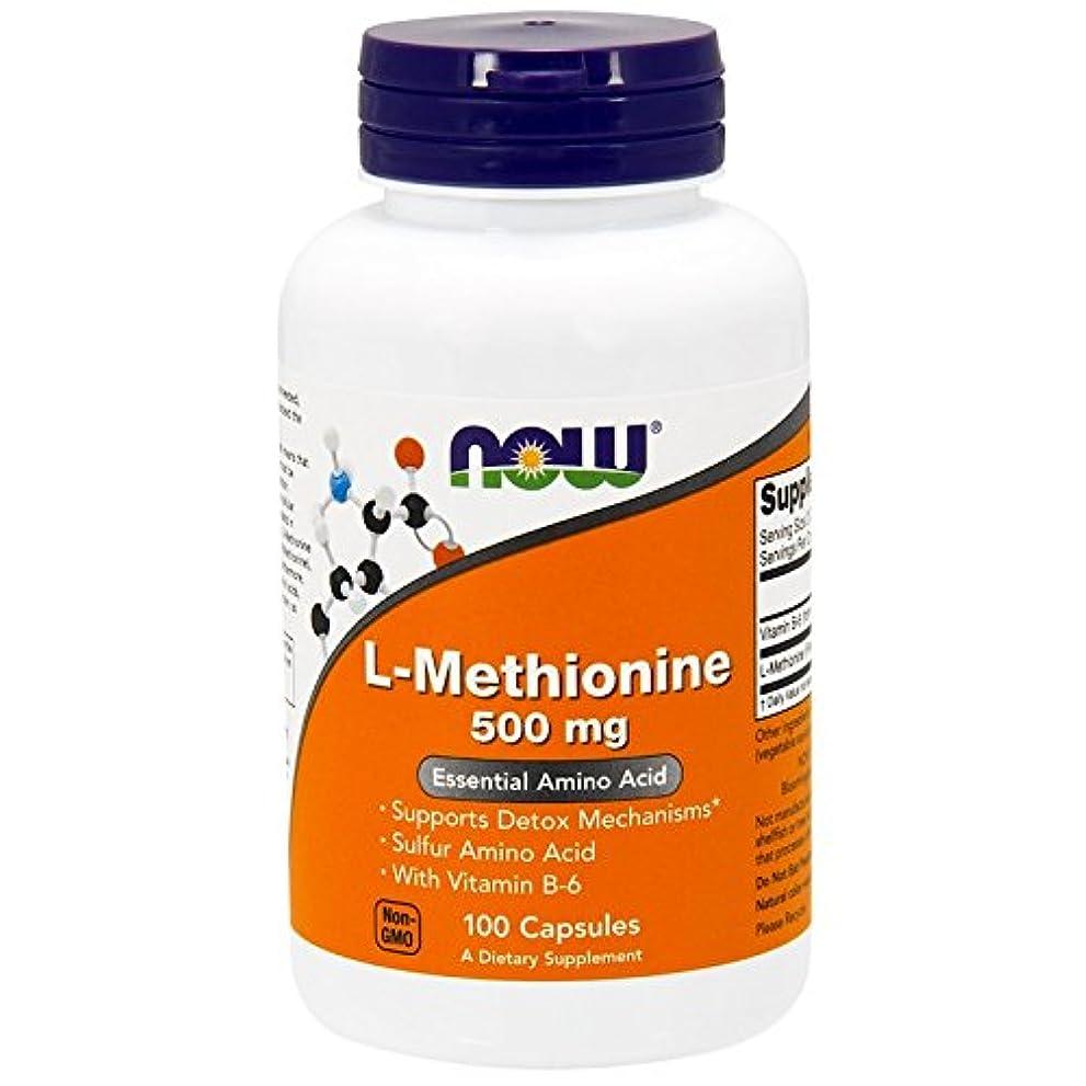 想定する課すキリスト教[海外直送品] ナウフーズ L-Methionine 500 mg 100 Caps by