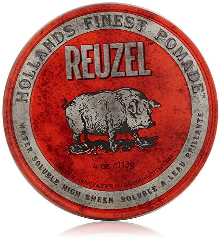 ゴシップメトリック鉛Red Hair Pomade 4oz pomade by Reuzel by REUZEL