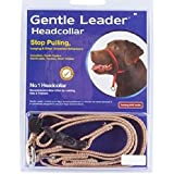 Gentle Leader Headcollar for in Large Dogs, Fawn