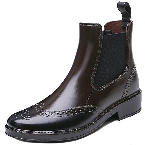 TONGPU 雨靴 短靴 レインブーツ レインシューズ サイドゴアショート