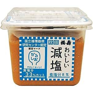 浅利佐助商店 おいしい減塩生みそ 470g
