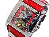 キース バリー KEITH VALLER 自動巻き メンズ 腕時計 SDT2-RD レッド