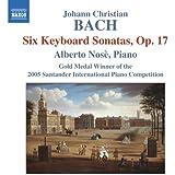 J・C・バッハ:6 つの鍵盤ソナタ集 Op.17
