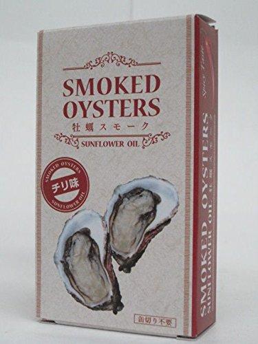 アクサス 牡蠣スモーク チリ味 85g ■おつまみ缶詰め
