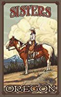 Northwest Art Mall Sisters Oregon Summer Cowgirl Unframed Prints by Paul A Lanquist 11-Inch by 17-Inch [並行輸入品]