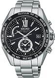 [セイコー]SEIKO 腕時計 BRIGHTZ ブライツ ワールドタイム 電波ソーラー ブライトチタン ブラックダイヤル SAGA099 メンズ